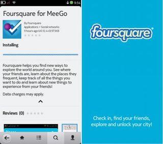 FourSquare-MeeGo